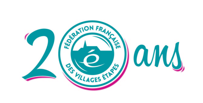 Logo villages étapes 20 ans