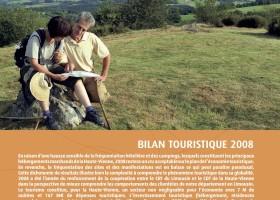Haute-Vienne Tourisme : bilan touristique année 2008