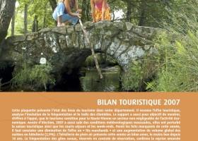 Haute-Vienne Tourisme : bilan touristique année 2007