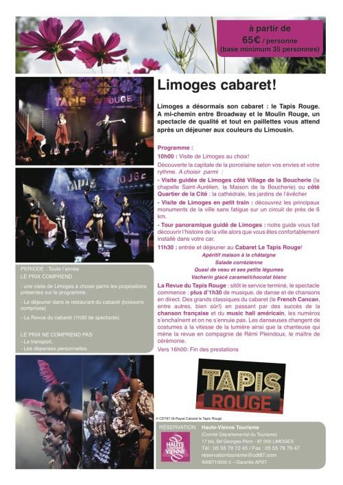 Cabaret Limoges