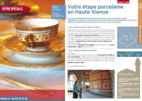 Offre spéciale groupes : un séjour étape pour découvrir la Haute-Vienne