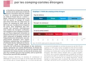La France, destination appréciée par les camping-caristes étrangers | Direction Générale des Entreprises (DGE)
