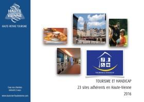 Brochure Tourisme et handicap 2016