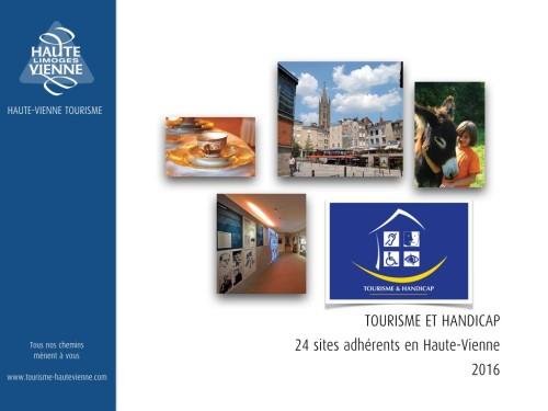 Plaquette Tourisme et Handicap JANVIER 2016