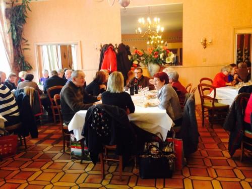 Déjeuner à la Table des Bénédictins