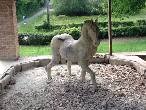 Le cheval de Puicheny