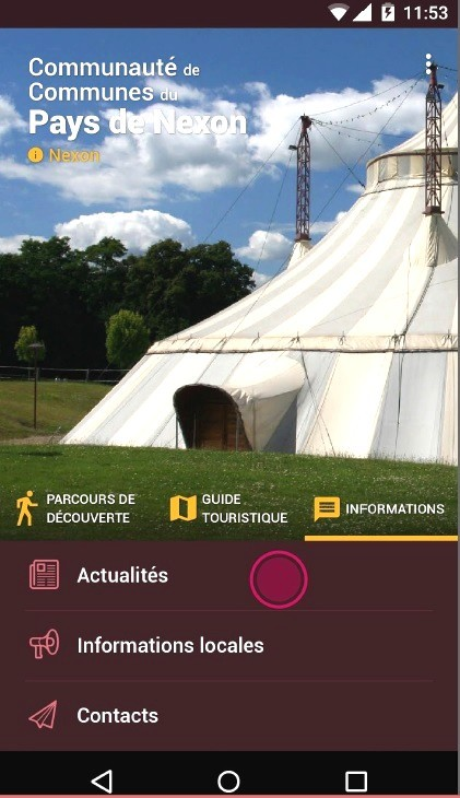 informations locales