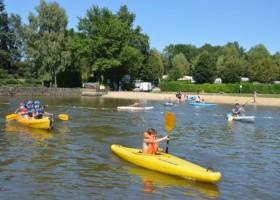 Découverte du kayak à l'étang de la Lande à Nexon