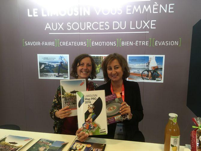Brochure Limousin éditée pour l'occasion & brochures groupes des partenaires