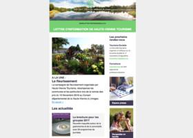 La lettre d'information de Haute-Vienne Tourisme #2