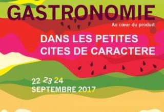 Le réseau des Petites Cités de Caractère® est partenaire de la Fête de la Gastronomie