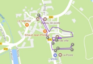 Le Dorat en balade numérique grace au vidéoguide Limousin