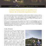 Exposition Inspiration Haute-Vienne à la maison de la Nouvelle-Aquitaine à Paris