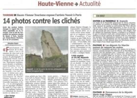 Haute-Vienne Tourisme expose l'artiste Nassir à Paris