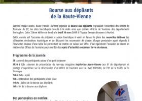 Bourse aux dépliants touristiques de la Haute-Vienne