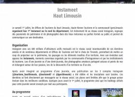 Instameet Haut Limousin
