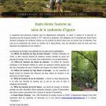 Haute-Vienne Tourisme au salon de la randonnée d'Eguzon