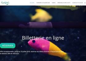 Ouverture de la billetterie en ligne de l'Aquarium du Limousin