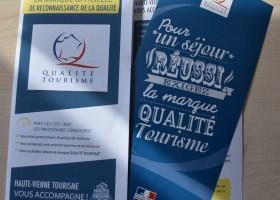 Félicitations aux 5 sites de visite qui obtiennent la marque Qualité Tourisme™ !