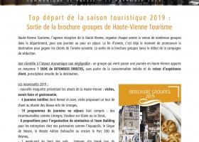 Nouvelle brochure groupe de la Haute-Vienne