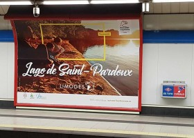 La Haute-Vienne et Limoges s'affiche en Espagne !