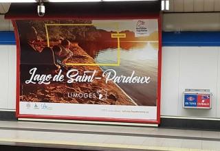 La Haute-Vienne s'affiche en Espagne !