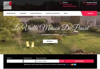 Nouveau site web pour la Vieille Maison de Pensol