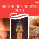 La Brochure groupes 2020  est arrivée !