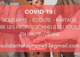 Covid19 : les dernières informations, les dispositifs d'aide et les recommandations au maintien de l'activité touristique