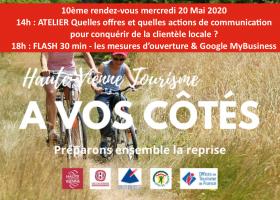 A Vos Côtés#10 mercredi 20 Mai 2020 : un atelier et un flash 30 min