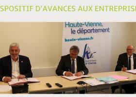 Covid9 : dispositif d'avance aux entreprises TPE et PME en Haute-Vienne