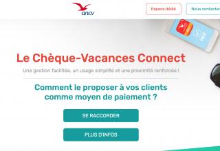 L'ANCV lance Chèque-Vacances Connect et réduit la commission
