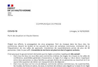 L'ensemble du territoire français est placé à nouveau en état d'urgence sanitaire.