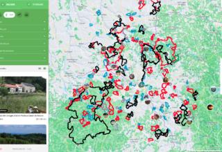 7 territoires mutualisés pour promouvoir la randonnée avec Loopi