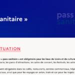 Extension du pass sanitaire le 9 août 2021