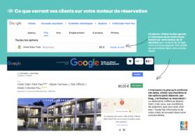 Avec Elloha, recevez des réservations directes depuis Google